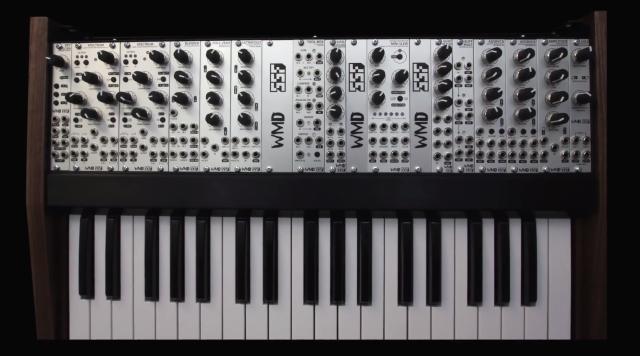 WMD + SSF Monolith Eurorack Keyboard