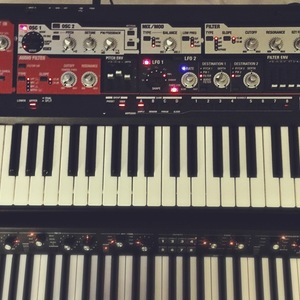 Roland SH-201 analog modeling synthesizer 49-key (full-sized)