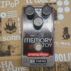 Electro Harmonix Memory Toy Analog Delay $1500 五成新