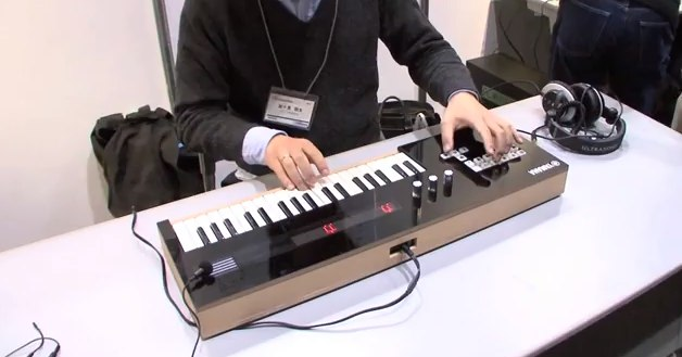 Play hatsune miku songs live with the yamaha vocaloid keyboard diginfo youtube