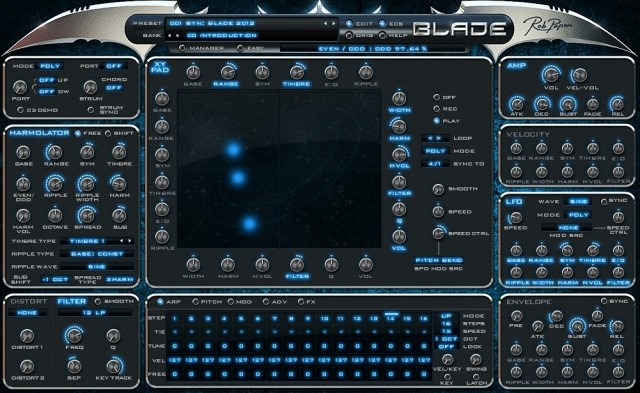 Rob papen blade synthesizer 640x393