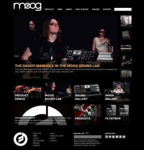 Thumb moog website