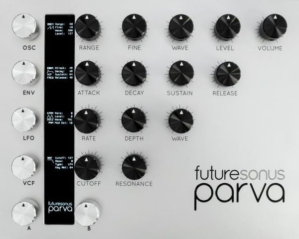 Thumb futursonus parva synthesizer