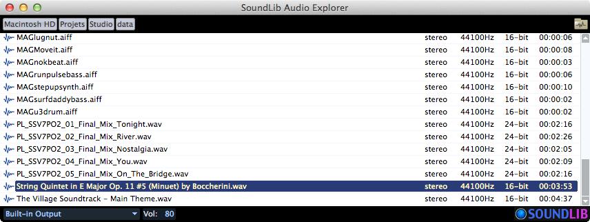 Audioex mac