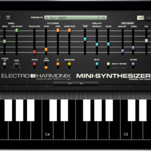 Thumb mini synthesizer app