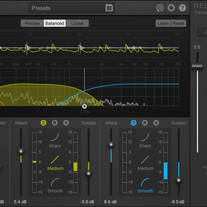 Thumb izotope neutron component transient shaper