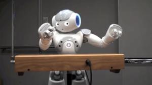 Thumb robot theremin