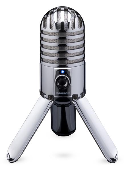 Meteor mic straight on