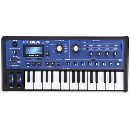 Novation MiniNova 合成器鍵盤