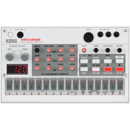 Korg Volca Sample 取樣機