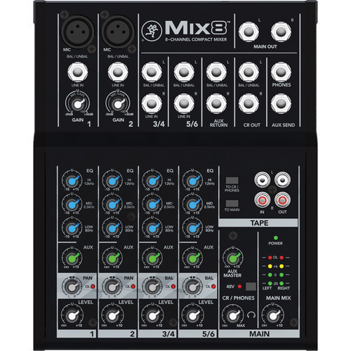 Mackie Mix 8 混音器