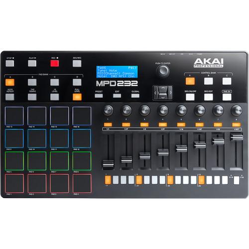 Akai MPD 232 MIDI 控制器 打擊板