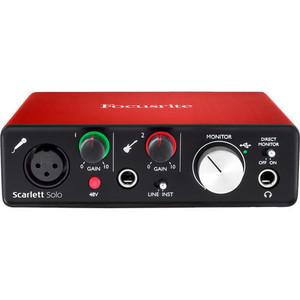 Focusrite Scarlett Solo USB 錄音介面 (2代)