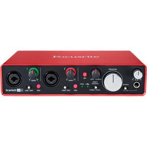 Focusrite Scarlett 2i4 USB 錄音介面 (2代)