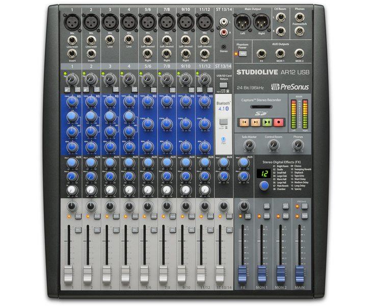 Presonus studiolive ar12 usb top big