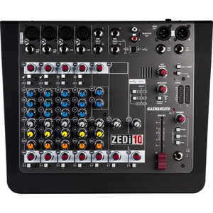 Allen & Heath ZEDi-10 混音器