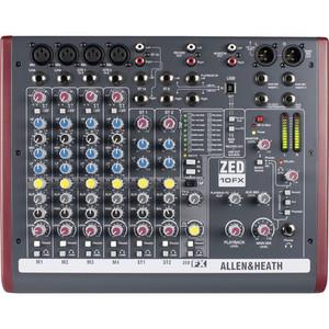 Allen & Heath ZED-10FX 混音器
