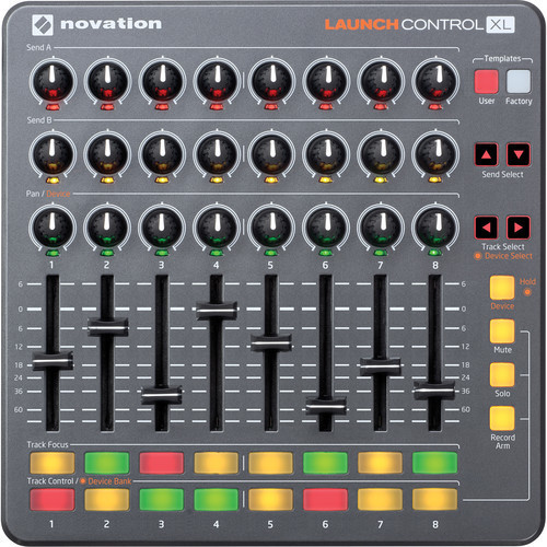 Novation Launch Control XL MIDI 控制器