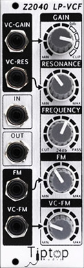 Tiptop Audio Z2040 4-pole filter