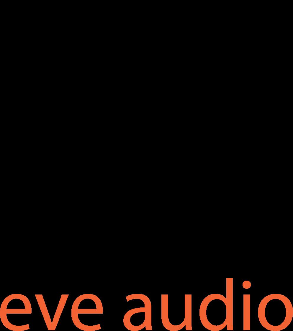 Eveaudio logo filllettering transparentbg