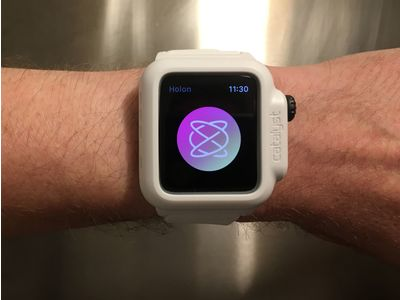 Thumb holon apple watch app