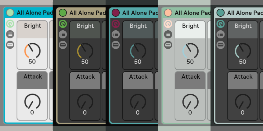 Ableton live themes 2