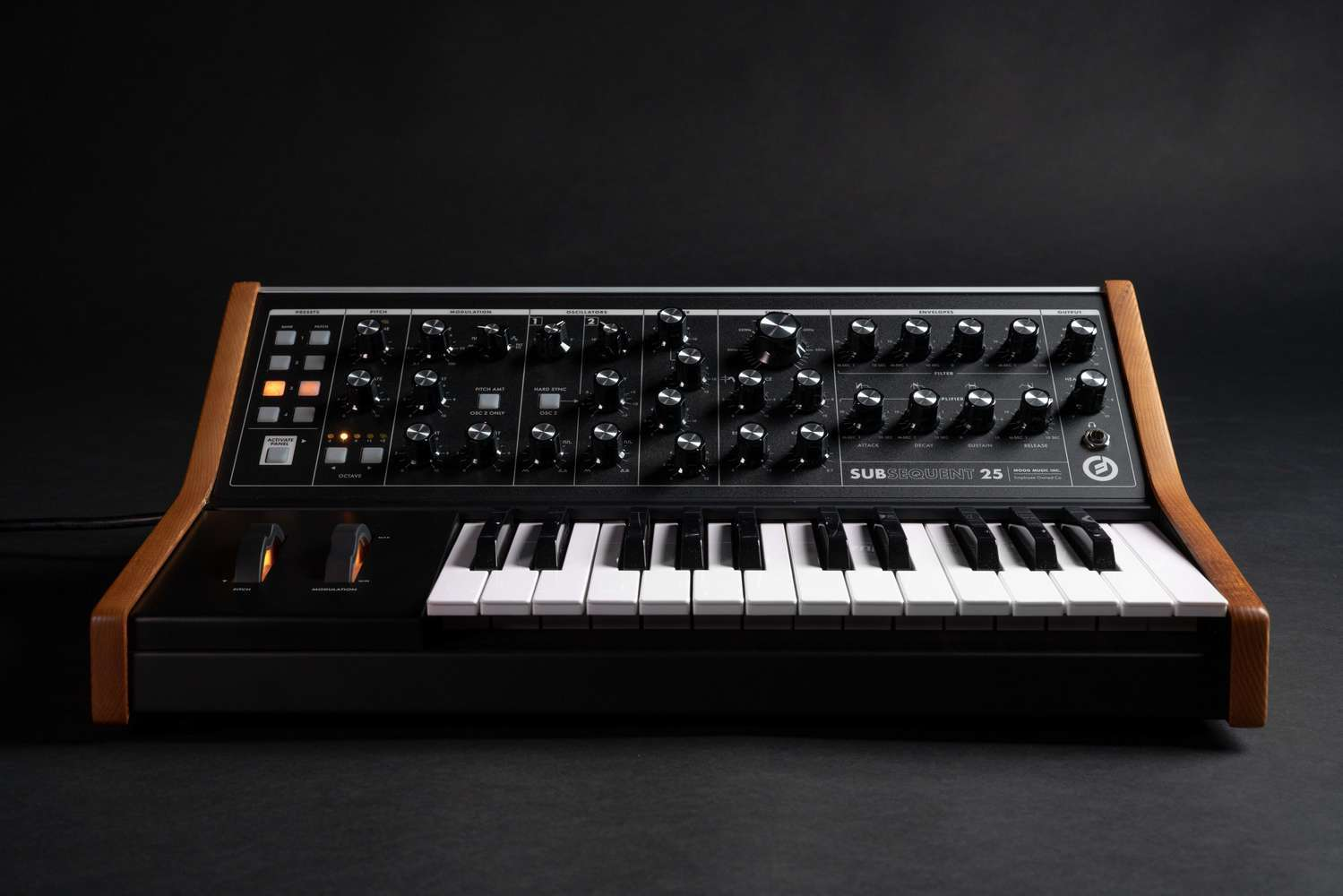 Subsequent 25 on black product shot 4