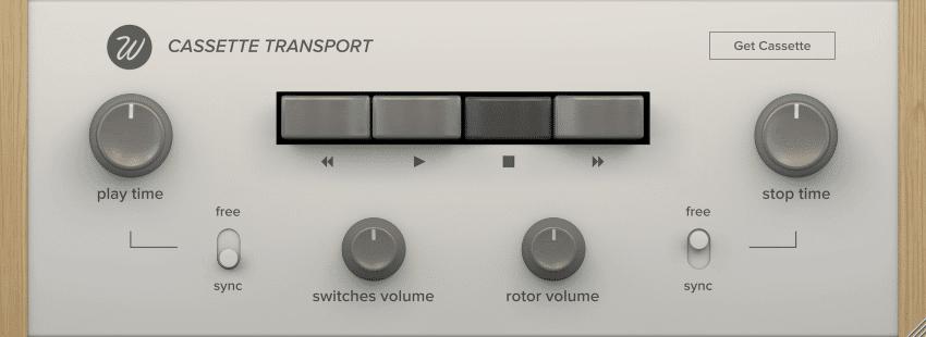 Cassette transport