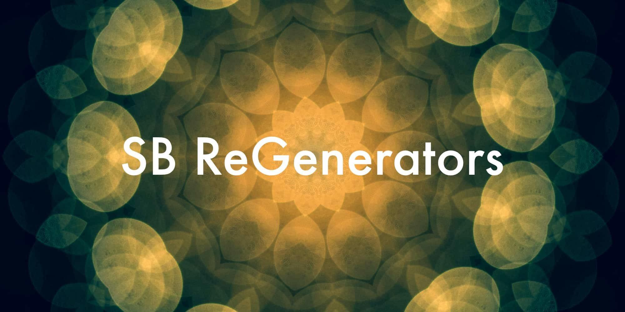 Sb regenerators