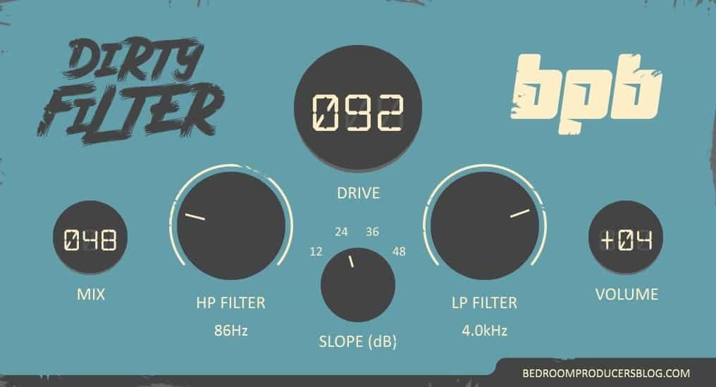 Dirty filter screenshot