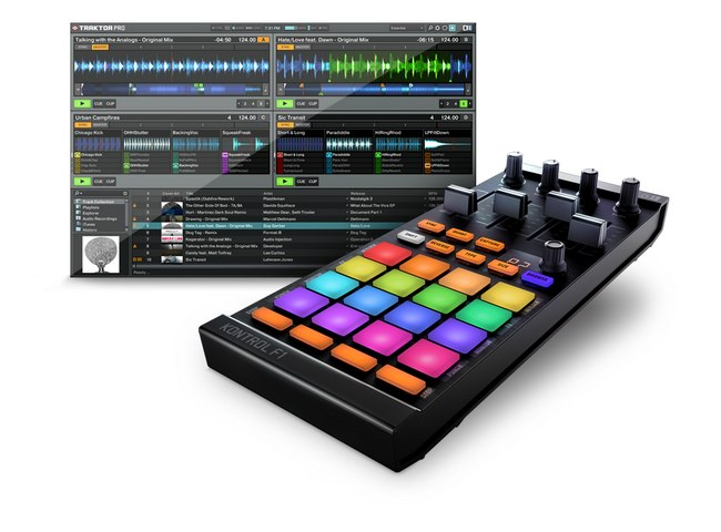 Traktor kontrol f1   overview native instruments   dj