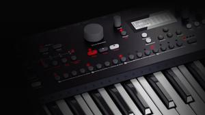Thumb elektron analog keys four voice synthesizer