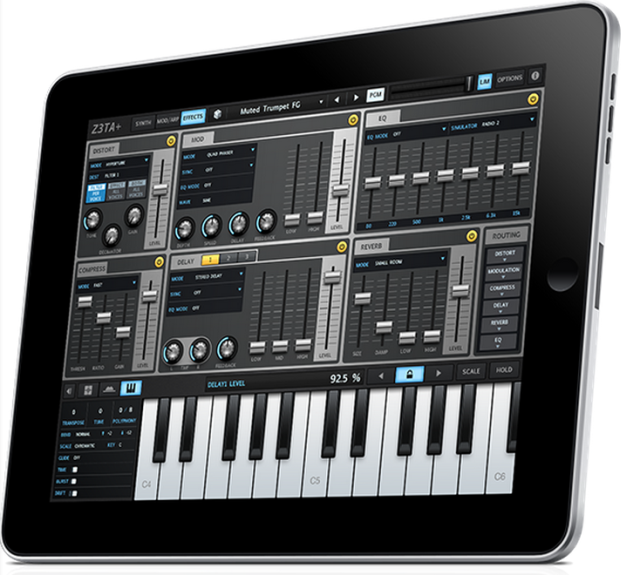 Z3ta synthesizer ios