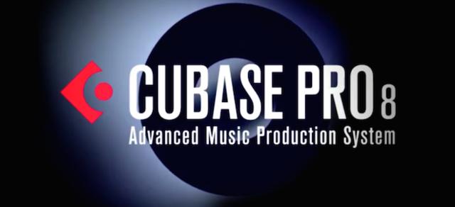 Headline cubase pro 8