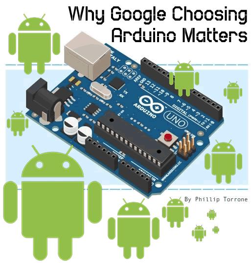Why arduino google