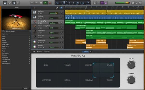 Thumb camel audio alchemy garageband