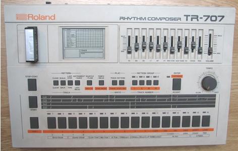 Thumb roland tr 707
