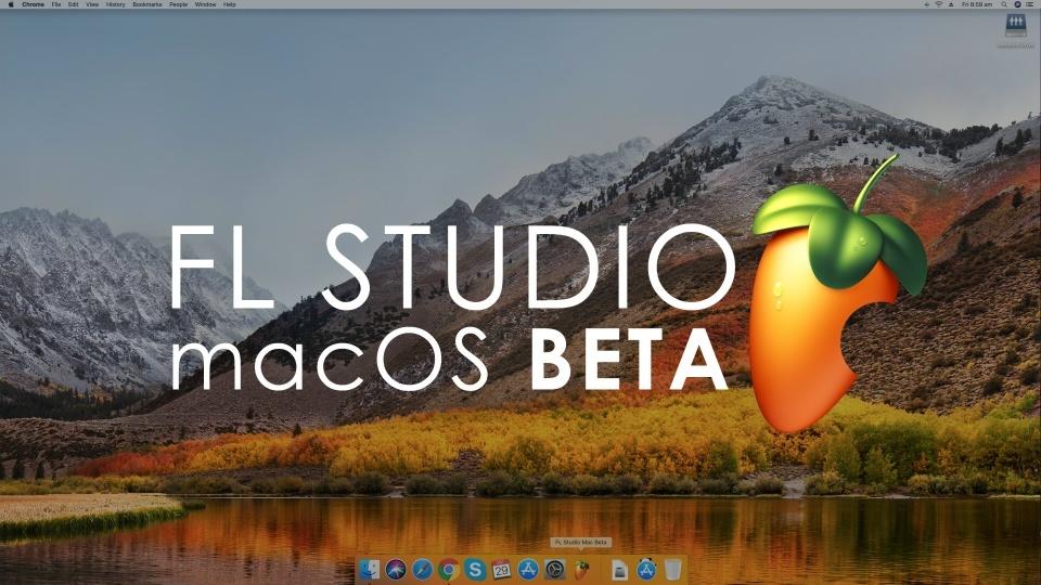 Flstudio macos beta