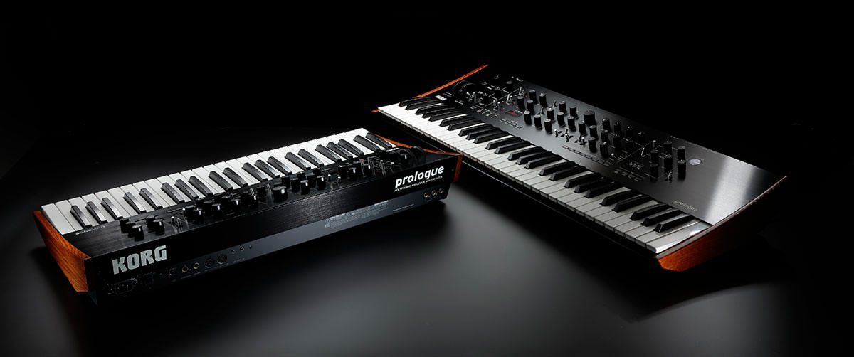 Korg prologue analogue synthesizer