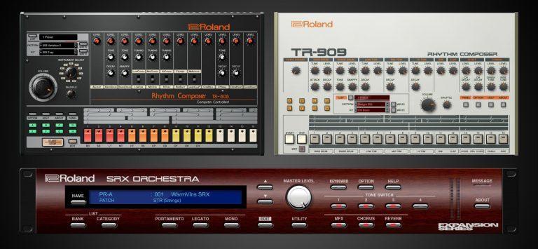 Roland cloud tr 808 tr 909 srx e1516824235146