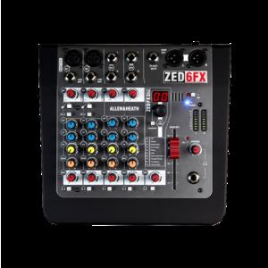 Allen & Heath ZED-6FX 混音器
