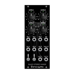 Erica Synths Black Stereo Mixer V2