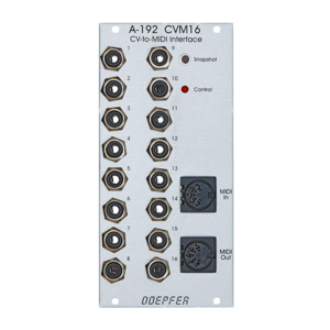 Doepfer A-192-1 Voltage-to-MIDI Interface CVM16