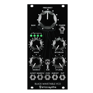 Thumb wavetable vco