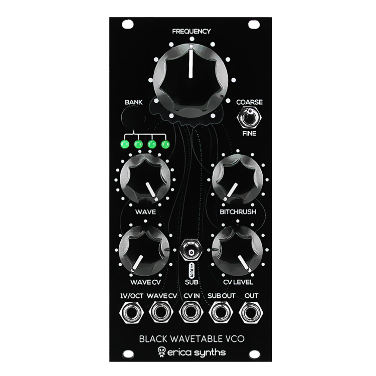 Wavetable vco