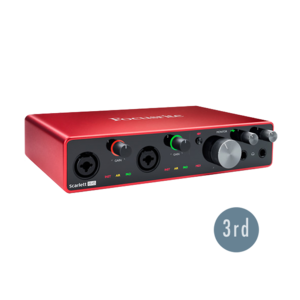 Focusrite Scarlett 8i6 USB 錄音介面 (3代)