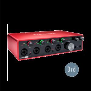 Focusrite Scarlett 18i8 USB 錄音介面 (3代)