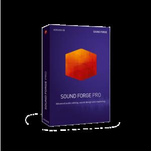 MAGIX Sound Forge Pro 13 音樂工作站