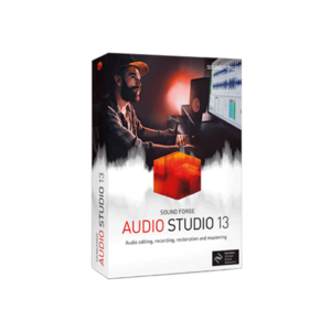 MAGIX Sound Forge Audio Studio 13 音樂工作站