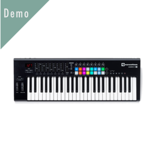 Novation Novation Launchkey 49 MKII MIDI 鍵盤 Demo 品